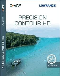 C-MAP Precision Contour HD (Alabama) - High Definition Lake Maps