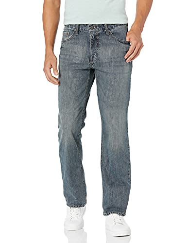 Wrangler Authentics Men's Relaxed Fit Boot Cut Jean, Tinted Mid...