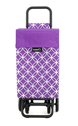 Garmol Einkaufstrolley 48L violett