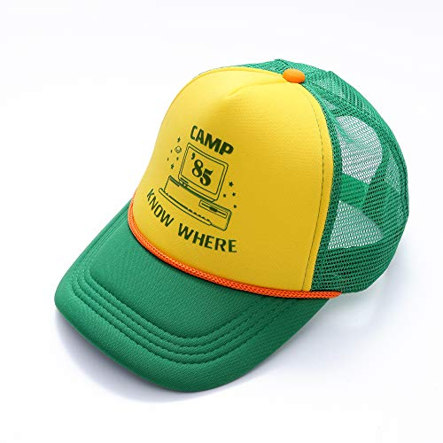 Funfeel Camp Know Where Ringer Tshirt Baseball Cap (One Size, Hat)