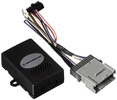 SCOSCHE GMSRCL2 2003-2012 GM Class 2 Car Stereo Replacement Interface Control with Chime (Class II Data System)