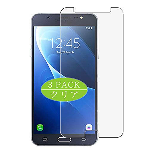 Vaxson Pack of 3 Screen Protectors, Compatible with Galaxy J7 2015/J700M/J700H/J7 Duos, Screen Protector Bubble-Free [Not Tempered Glass]
