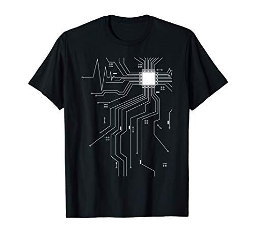 informatico programmatore di computer programmatore CPU cuor Maglietta