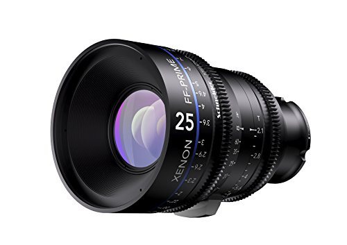 Schneider-Kreuznach 1085545 Cine Objektiv FF-Prime T2.1/25 mm, Sony E/m schwarz