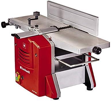 Foto di Einhell 4419955 TC-SP 204 Pialla a Spessore Stazionario (1500 W, velocità libera 9000 rpm, larghezza massima di lavoro 204 mm, piedini antivibranti), Rosso/Argento