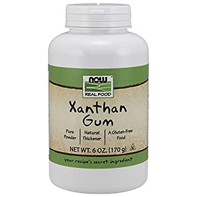 NOW Foods Xanthan Gum, 6 Ounce Bottle