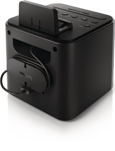 Philips AJT3300/37 Bluetooth Clock Radio (Black)