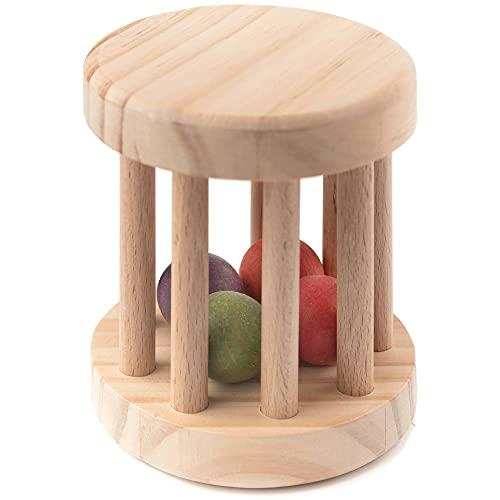 Rodari de madera Natural tamaño 9 x12 juguete ecológico para bebés