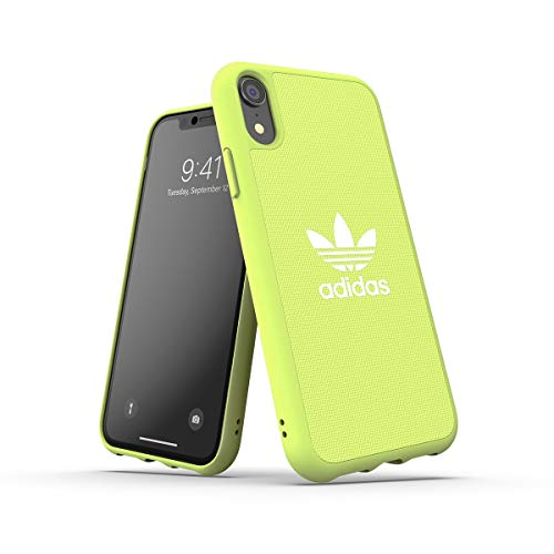 adidas Originals Funda iPhone XR Fabric Molded - Hi-Res Yellow
