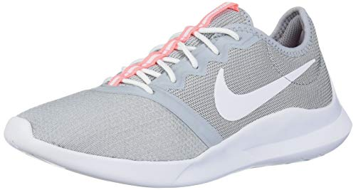 Nike Women's VTR Sneaker, Wolf Grey/white-lava glow, 8 Regular US