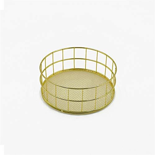JIANWEI Caja De Almacenamiento Cosmética Nórdica Net Cesta De Almacenamiento En La Parte Inferior De Escritorio Sundries Snack Storage Rack