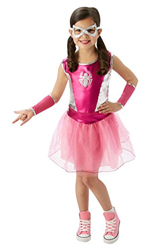 Rubie's Marvel Classic Child's Pink Spider-Girl Costume, Small
