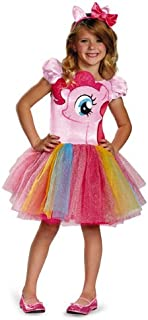 Hasbro's My Little Pony Pinkie Pie Tutu Prestige Girls Costume, Small/4-6x