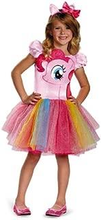 Hasbro's My Little Pony Pinkie Pie Tutu Prestige Girls Costume, X-Small/3T-4T
