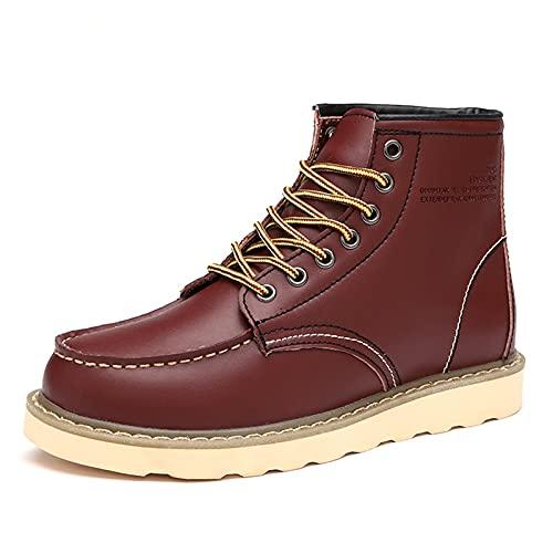 PJRYC Martin Boots Men's Verano Botas Cortas Botas Desert Corte Medio (Color : Clare, tamaño : 36)