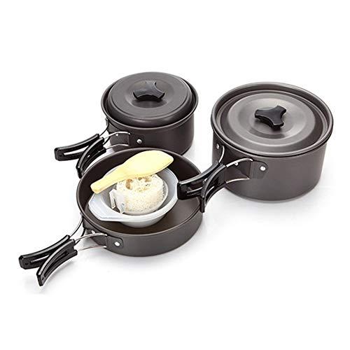 DADD Cooking Camping Cooking Juego de Utensilios de Cocina, Juego de Cocina...