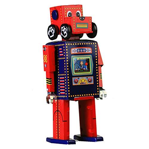 Recherche et sauvetage MS486 Tin Robot Robot jouet WIND UP