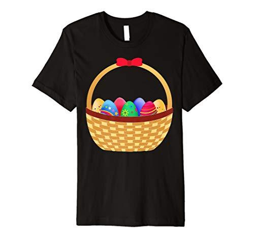Eggs Pannier Funny Easter Day T-Shirt For Men Women Kids