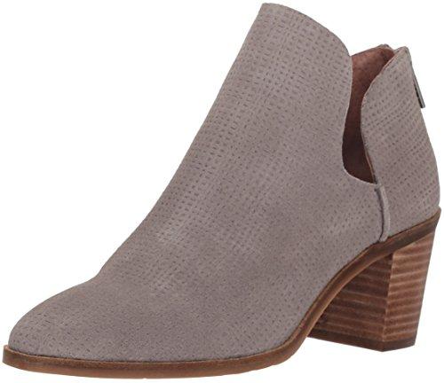 Lucky Brand Women's Powe Ankle Boot, Titanium, 11 Medium US