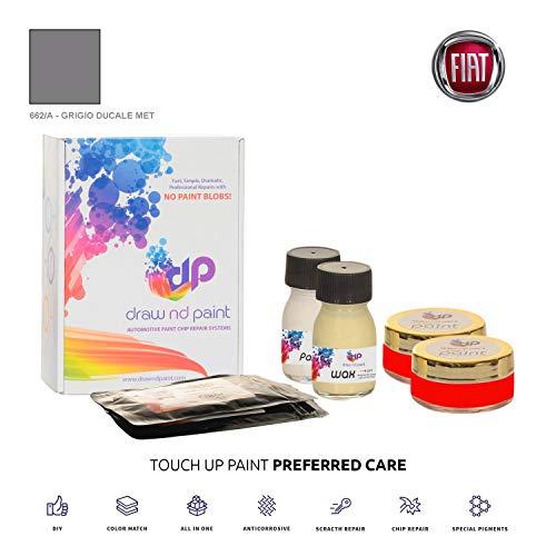DrawndPaint for/FIAT Regata/Grigio DUCALE Met - 662/A/Touch-UP Sistema DE Pintura Coincidencia EXACTA/Preferred Care