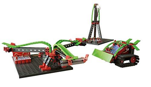 fischertechnik BT Smart Set per Principianti – Il Robot Giocattolo per Bambini – Il Kit di Costruzione è programmabile Tramite PC, Smartphone e Tablet – 12 Diversi Modelli, 540586