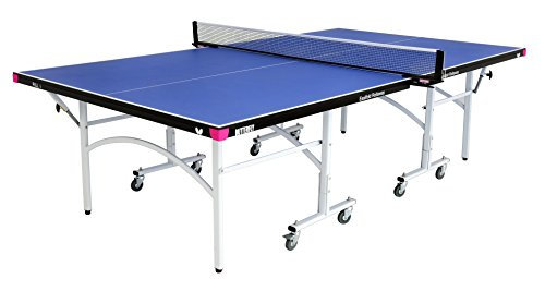 Butterfly Easifold 19 Rollaway Indoor Table Tennis Table, Blue