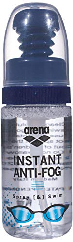 Arena Instant Anti-Fog Spray Antivaho, Unisex Adulto, (Transparent), Talla Única