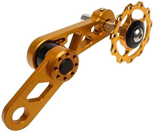 XinYiC Aleación de aluminio de la bicicleta Accesorios de la cadena de piezas de repuesto para bicicleta Mtb de una sola velocidad del desviador trasero de la cadena del tensor S3