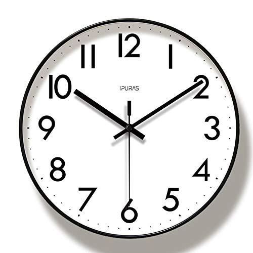 reloj de pared ZXY Arte Moda nórdica Simple de la Personalidad del Reloj de la Sala Dormitorio Mudo Creativo decoración de la Pared del Reloj Reloj de pared-10.24