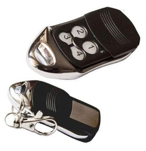 TK STAR 433 Mhz Handsender Fernbedienung kompatibel zu Homentry Liftmaster 4330E, 4332E, G4332, 4333E, 4335E, HE4331, HE60AS, G4335, PR433, Sesam 200, Motorlift 1000 2000 4000 4500 5500