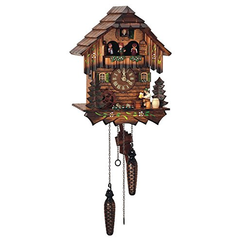Schneider 12.5' Quartz Cuckoo Clock with Beer Drinker
