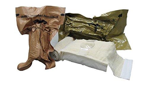 Olaes™ Bandagen steril - gerollt 15 x 3 cm - Tactical Medical Solution┇ Modular Trauma Bandage Druckverband