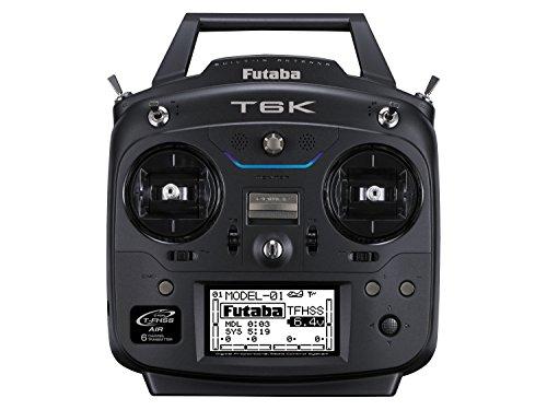 Futaba T6K 6 Channel 2.4GHz T-FHSS (Dry) Mode 2 Transmitter & R3006SB Receiver