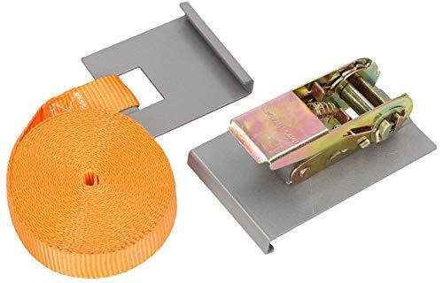 KOTARBAU® Bodenbelag Spanngurt 5m zum Verlegen von Bodenpaneelen Parkett Laminat Spanngurt