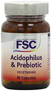 FSC Acidophilus & Prebiotic Fos 60 Vegcapsules