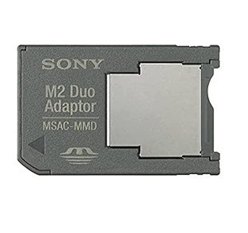Sony M2 (Memory Stick Micro) a PRO DUO Adaptador de memoria móvil (MSAC-MMD, paquete a granel)