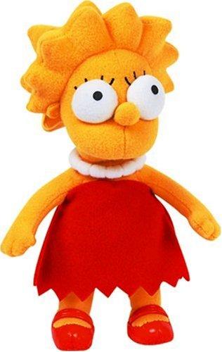 The Simpsons - Peluche Lisa, 22 cm (United Labels 1000186)