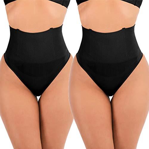 FUT Thong Shapewear for Women Tummy Control Panties Butt Lifter Body Shaper Waist Cincher Girdle Seamless Slimmer Panty