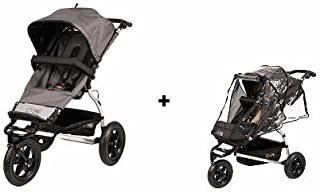 Mountain Buggy Urban Jungle Stroller With Storm Cover (Flint Dot)