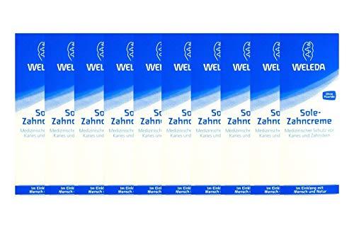 10x Weleda Sole Zahncreme 75 ml