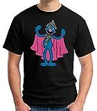 Desconocido 35mm - Camiseta Niño Supercoco - Barrio Sesamo - 80's - EGB - Negro - Talla 11-12 años