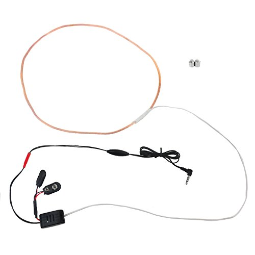 KG 034 drahtloses Headset Spionage Headset für Smartphones oder MP3 Player, Tonübertragung durch Neodymmagnet und Kupferspule, Wireless Audio Security Headset, Kobert-Goods