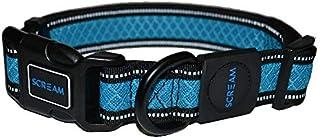 SCREAM Dog Collar, Loud Blue