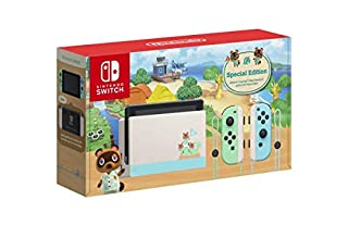 Animal Crossing: New Horizons Limited Edition Console (Game not included) - Nintendo Switch (B084DJ6Y4N) | Amazon price tracker / tracking, Amazon price history charts, Amazon price watches, Amazon price drop alerts