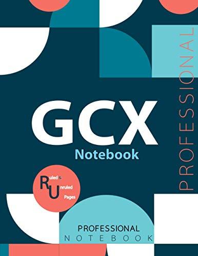 "GCX Notebook , Examination Preparation Notebook, Study writing notebook, Office writing notebook, 140 pages, 8.5"" x 11"", Glossy cover"