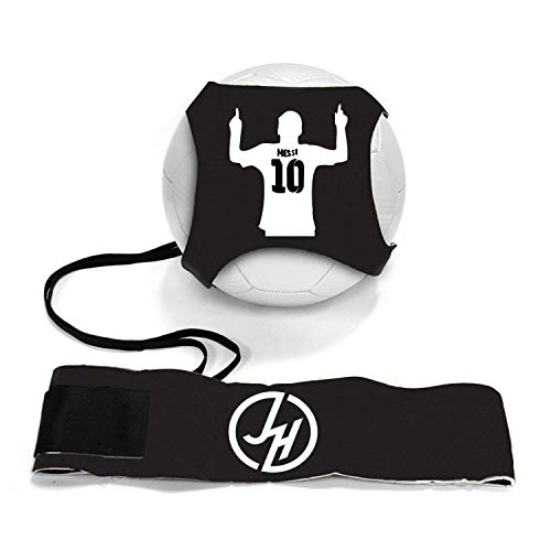 iSport Gifts Ronaldo #7 StarKick Solo Soccer Trainer Aid ✓ Adjustable Soccer Training Belt Rebounder ✓ Fits Soccer Ball Size 3, 4 & 5BALL NOT Included (StarKick Soccer Trainer, Ronaldo #7)