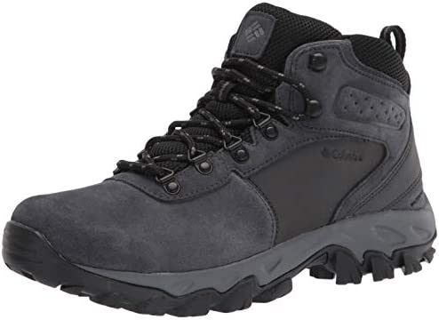 Columbia Men s Newton Ridge Plus II Suede Waterproof Hiking Shoe Shark Black 8 product image