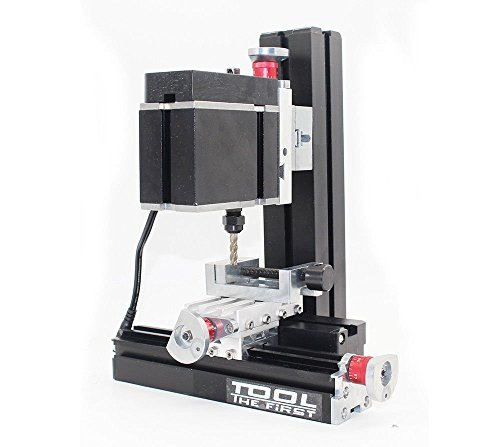High Power Metal Mini Lathe DIY Micro Milling Machine Mill 12000rpm 60W with Adapter