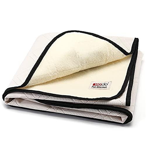 HOdo Wasserdicht Hundedecke Maschinenwaschbares Fleece Haustierbett für Hunde Schützt Couch, Stühle und Bett aus Natursekt für kleine, mittlere und große Hunde und Katzen