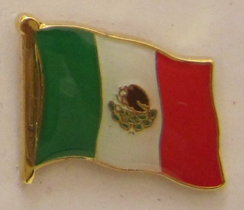 Mexiko Pin Anstecker Flagge Fahne Nationalflagge Flaggenpin Badge Button Flaggen Clip Anstecknadel